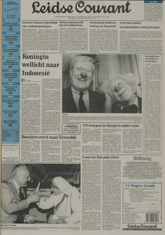 Leidse Courant 1992-08-01