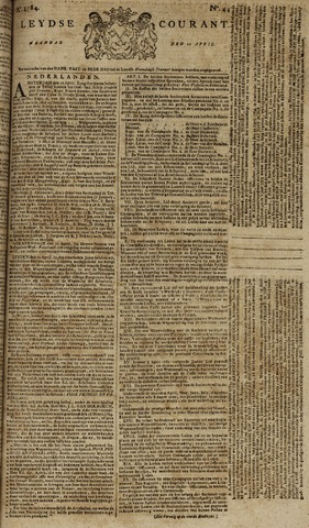 Leydse Courant 1784-04-12