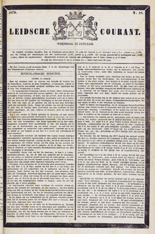 Leydse Courant 1879-01-22