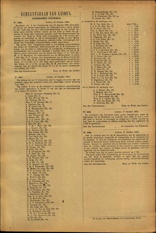Handelingen van de Raad 1895-10-10