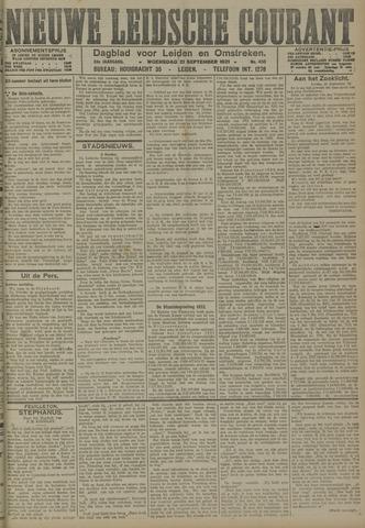 Nieuwe Leidsche Courant 1921-09-21