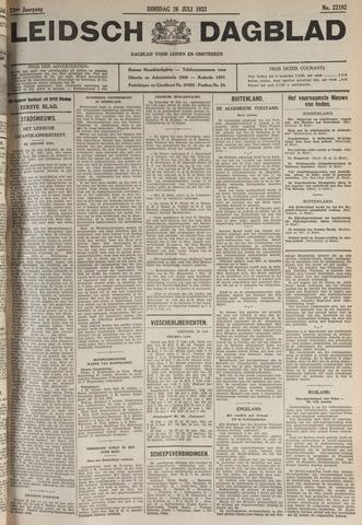 Leidsch Dagblad 1932-07-26