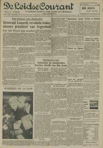 Leidse Courant 1955-09-22