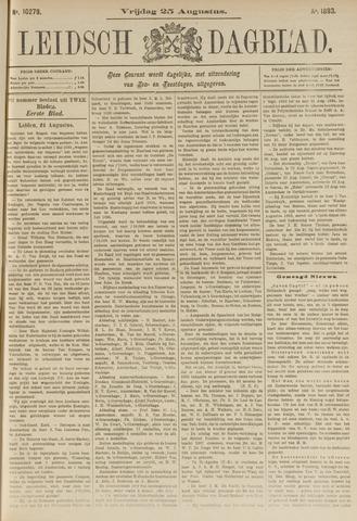 Leidsch Dagblad 1893-08-25
