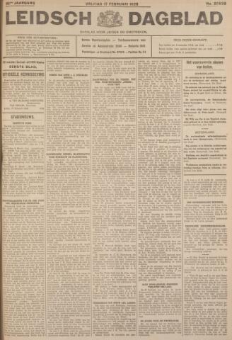 Leidsch Dagblad 1928-02-17