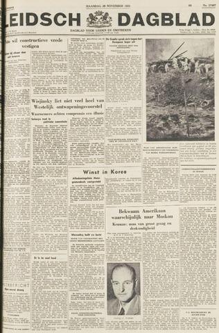 Leidsch Dagblad 1951-11-26