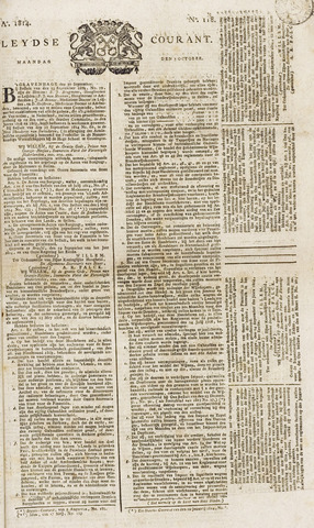 Leydse Courant 1814-10-03