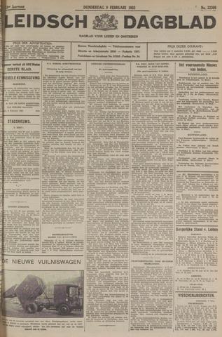 Leidsch Dagblad 1933-02-09