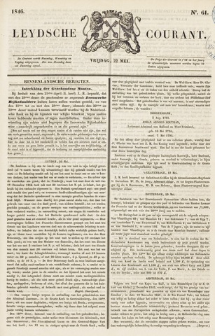 Leydse Courant 1846-05-22