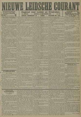 Nieuwe Leidsche Courant 1921-09-23