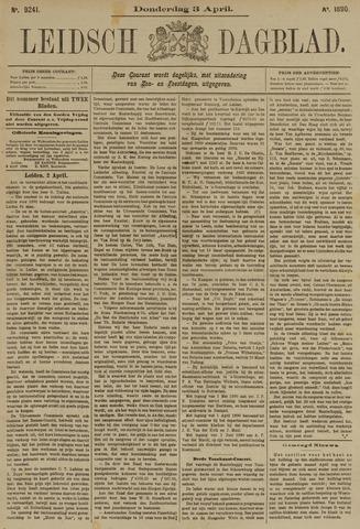Leidsch Dagblad 1890-04-03