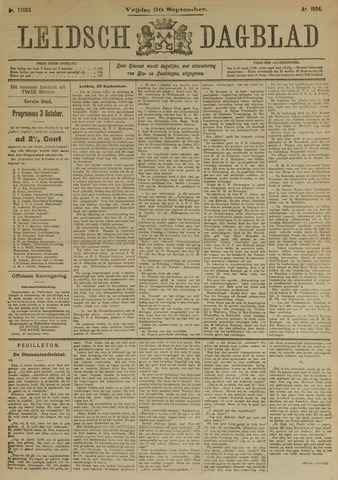 Leidsch Dagblad 1904-09-30