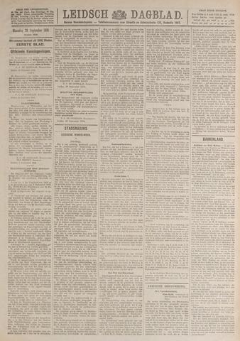 Leidsch Dagblad 1919-09-29