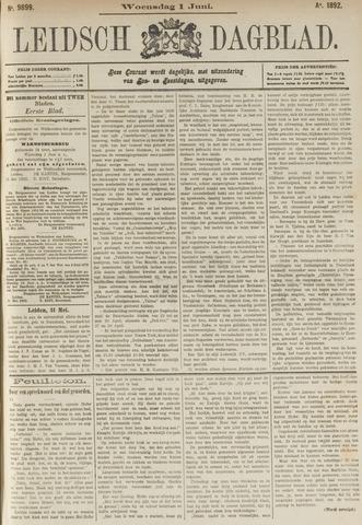 Leidsch Dagblad 1892-06-01