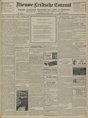 Nieuwe Leidsche Courant 1939-04-06