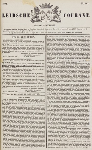 Leydse Courant 1884-12-05