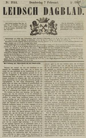 Leidsch Dagblad 1867-02-07