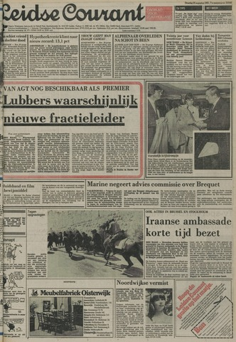 Leidse Courant 1981-08-25