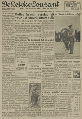 Leidse Courant 1954-10-26
