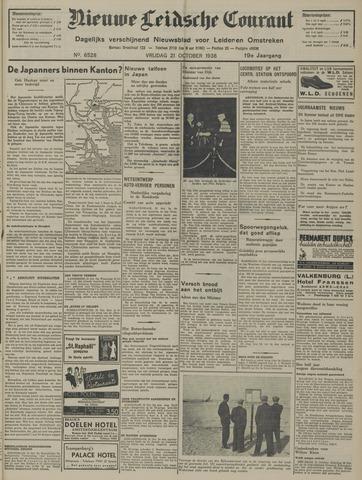 Nieuwe Leidsche Courant 1938-10-21