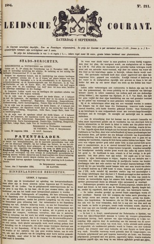 Leydse Courant 1884-09-06