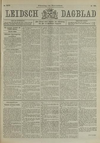 Leidsch Dagblad 1911-11-14