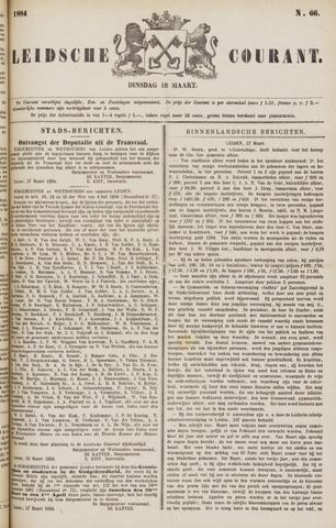 Leydse Courant 1884-03-18