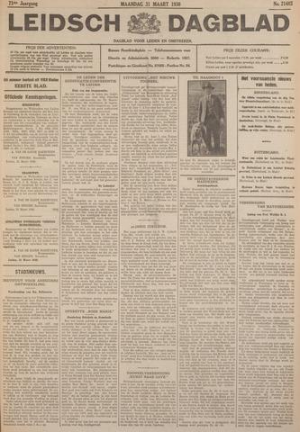 Leidsch Dagblad 1930-03-31