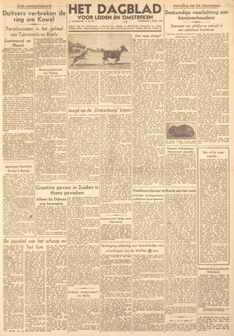 Dagblad voor Leiden en Omstreken 1944-04-08