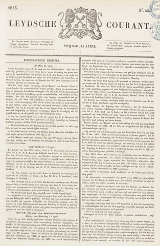 Leydse Courant 1853-04-15