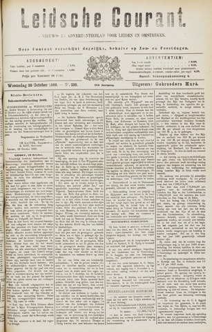 Leydse Courant 1889-10-30