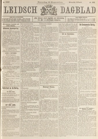 Leidsch Dagblad 1915-09-11
