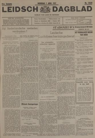 Leidsch Dagblad 1937-04-07