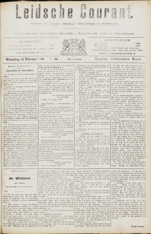 Leydse Courant 1890-02-12
