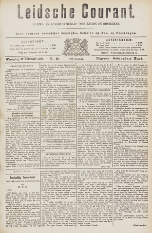 Leydse Courant 1889-02-27
