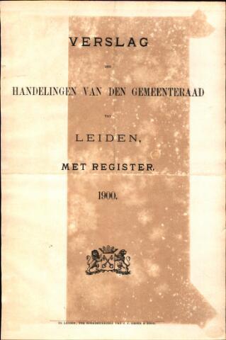 Handelingen van de Raad 1900-01-01