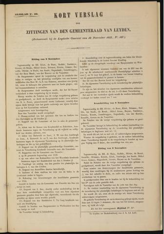 Handelingen van de Raad 1855-11-08
