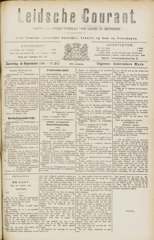 Leydse Courant 1889-09-14