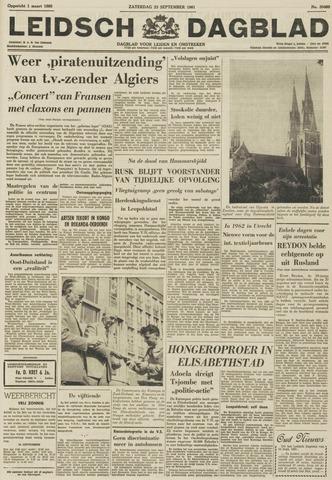 Leidsch Dagblad 1961-09-23