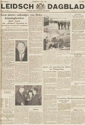 Leidsch Dagblad 1954-04-07