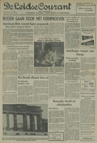 Leidse Courant 1961-09-09