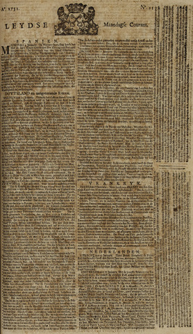 Leydse Courant 1751-01-25