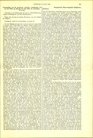 Handelingen van de Raad 1933-07-25
