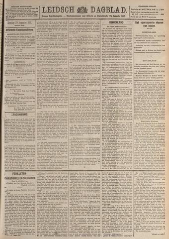 Leidsch Dagblad 1921-08-23