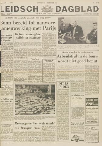 Leidsch Dagblad 1962-09-06