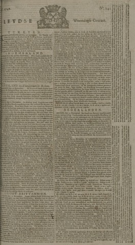 Leydse Courant 1740-11-23