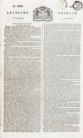 Leydse Courant 1839-03-20