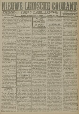 Nieuwe Leidsche Courant 1921-12-07