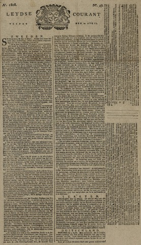 Leydse Courant 1808-04-22