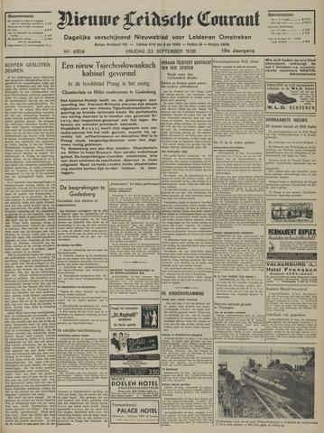 Nieuwe Leidsche Courant 1938-09-23